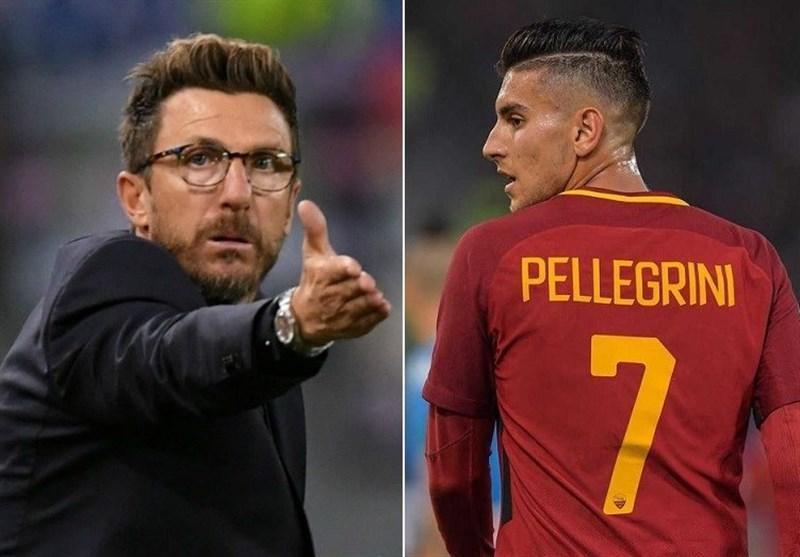 فوتبال دنیا، پلگرینی بازی با رئال مادرید را از دست می دهد، ضرب الاجل باشگاه رم به دی فرانچسکو