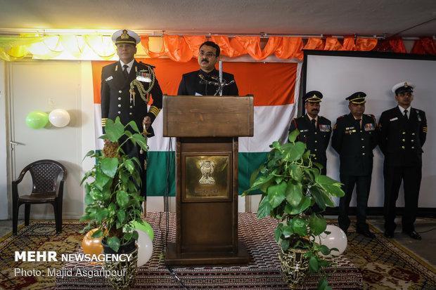 مراسم هفتادمین سالگرد روز جمهوری هند در تهران برگزار گردید