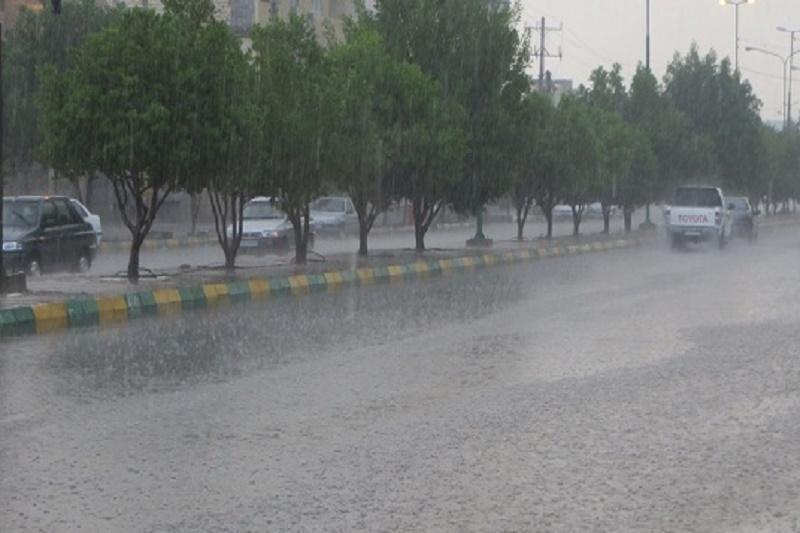 باران، رعد و برق و وزش باد خوزستان را فرا می گیرد