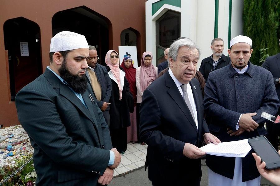 دبیرکل سازمان ملل متحد پدیده اسلام هراسی را محکوم کرد