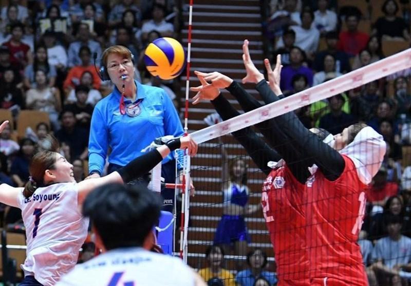 والیبال بانوان قهرمانی آسیا، ایران به قزاقستان هم باخت