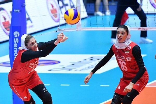 هنگ کنگ دومین حریف بانوان والیبالیست ایران