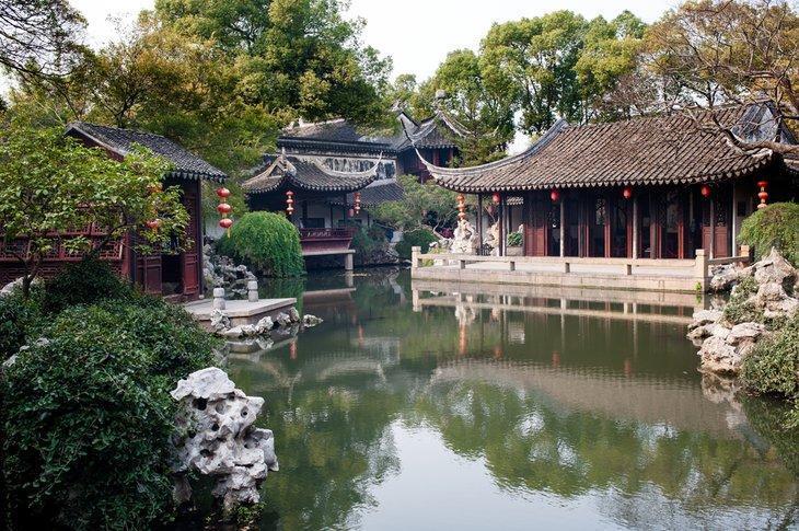 آشنایی با باغهای کلاسیک سوژو چین