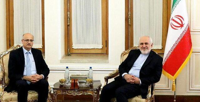 دیدار قائم مقام وزیر امور خارجه هند با ظریف