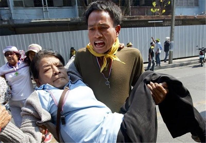 زخمی شدن 6 نفر در درگیری مخالفان و هواداران دولت تایلند
