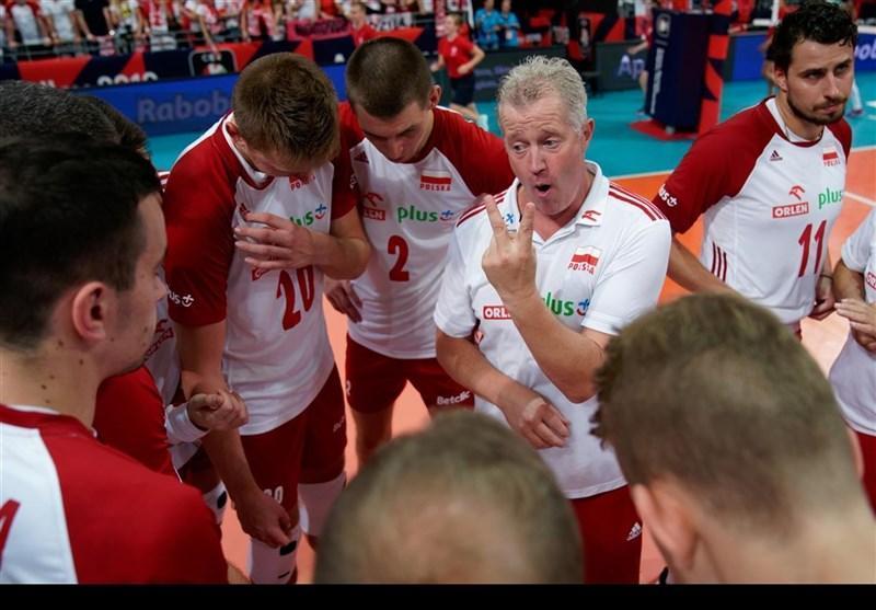والیبال قهرمانی اروپا، نخست وزیر لهستان به یاری شاگردان هاینن آمد