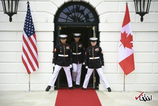تصاویر : برجام، موضوع دیدار ترامپ با نخست وزیر کانادا