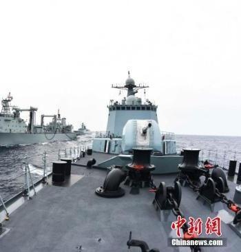 رزمایش مشترک چین و روسیه شروع شد