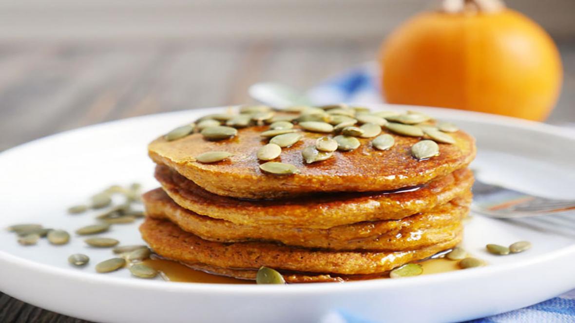 طرز تهیه پنکیک کدو حلوایی ؛ صبحانه مقوی و جذاب