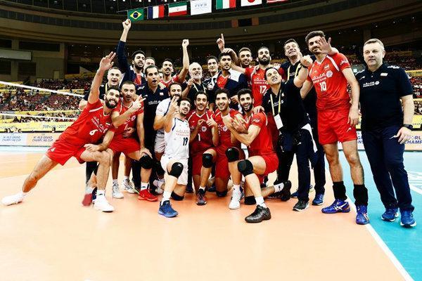 میادین پیش روی والیبال ایران در سال 2018مشخص شد