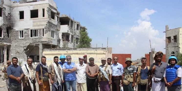 اینفوگرافی ، پنج پست دیدبانی در غرب یمن برای نظارت بر آتش بس