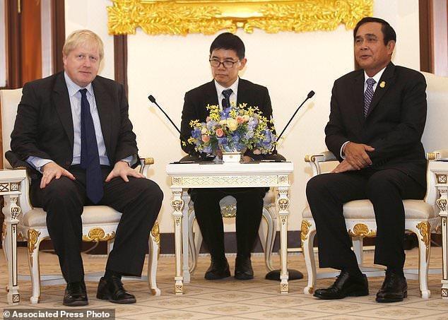 مذاکرات جانسون در تایلند درباره بحران روهینجا