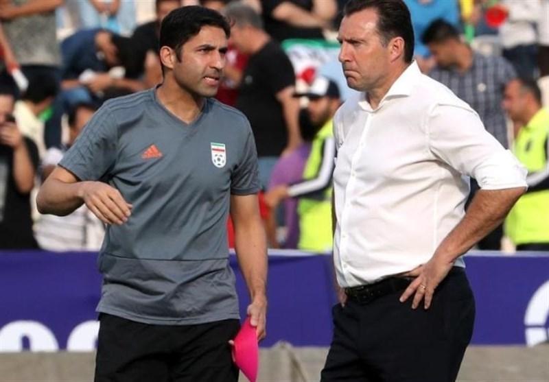 هاشمیان: حرفه ای و منطقی نیست که الان بخواهم پشت سر ویلموتس حرف بزنم، جای دعواهای سرمربی تیم ملی و فدراسیون قبل از بازی با عراق نبود