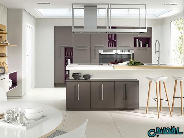 جادوی رنگ سفید در طراحی آشپزخانه