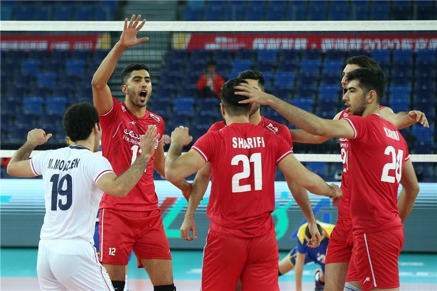 تیم ملی والیبال ایران - چین، سروقامتان به اژد های زرد رسیدند
