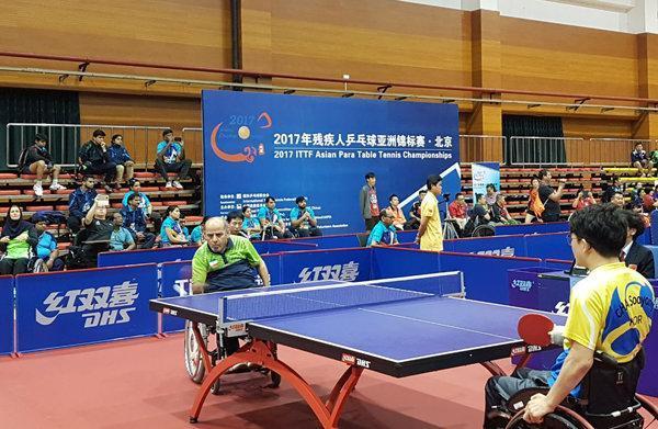 کسب دو مدال برنز تیم ملی تنیس روی میز معلولان در اندونزی