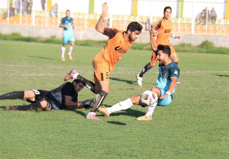لیگ دسته اول فوتبال، حضور 3 تیم هم امتیاز در صدر و قهرمانی مس رفسنجان در نیم فصل اول، ملوان در ثانیه های آخر از شکست فرار کرد!