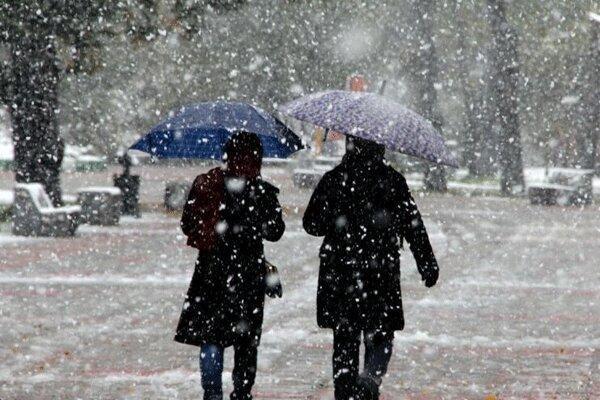 تشدید بارش برف و باران در آذربایجان غربی