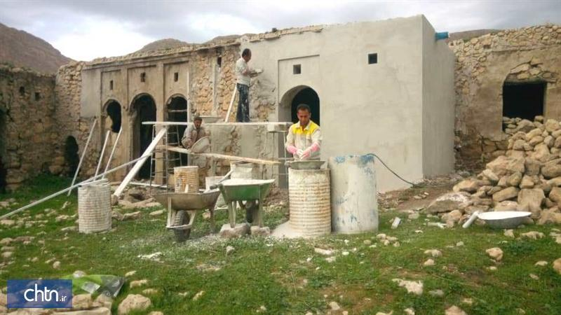 مرمت خانه ملا آقا جان الیفی در کازرون