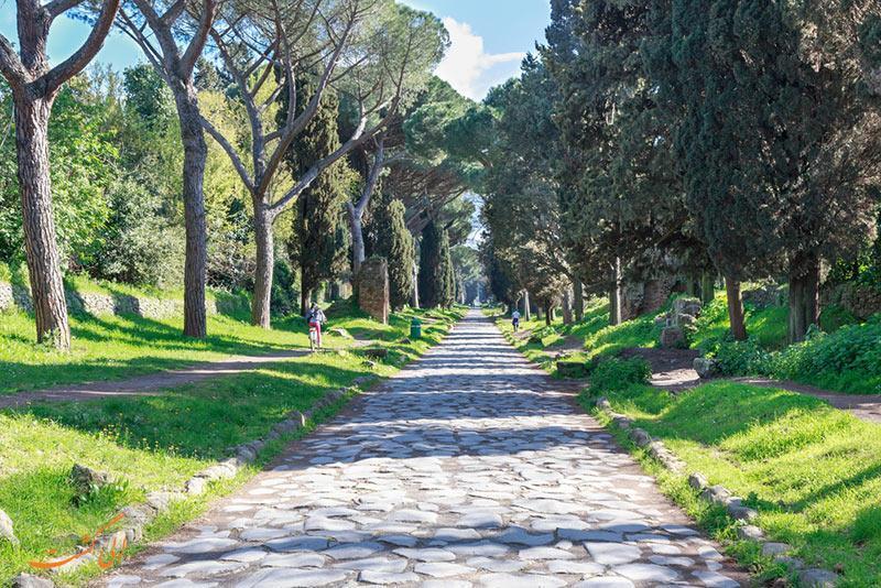 معرفی جاده آپیان در رم، تنها جاده زنده دنیا!