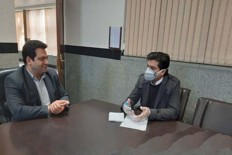خبرنگاران ضرر و زیان رسانه های استان قزوین بر اثر کرونا برآورد شده است