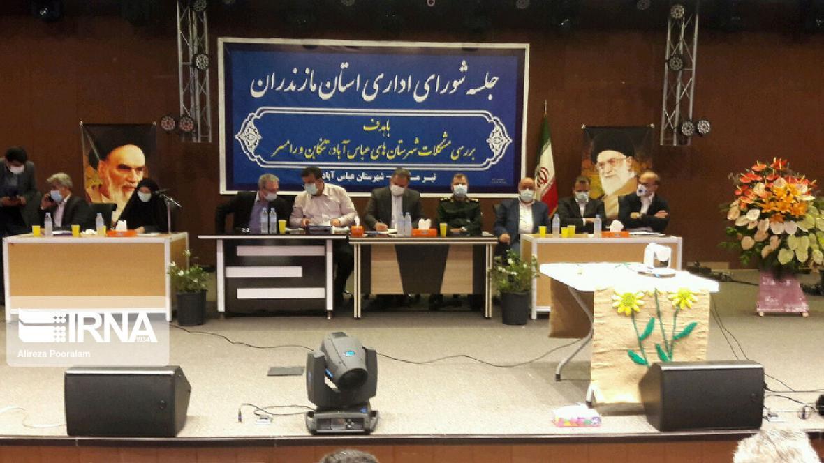 خبرنگاران حضور مسئولان استانی در غرب مازندران عین عدالت است