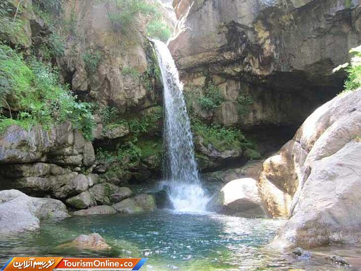 آبشار هشترخان منطقه ای بکر در دل هندوستان ایران