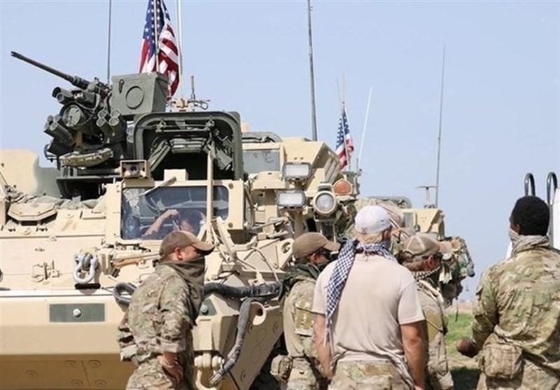سوریه، هدف قرار دریافت نظامیان تروریست آمریکایی در یک میدان نفتی
