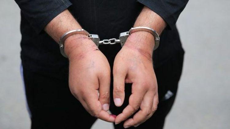 دستگیری سارقی که 100 میلیون تومان گل دزدید