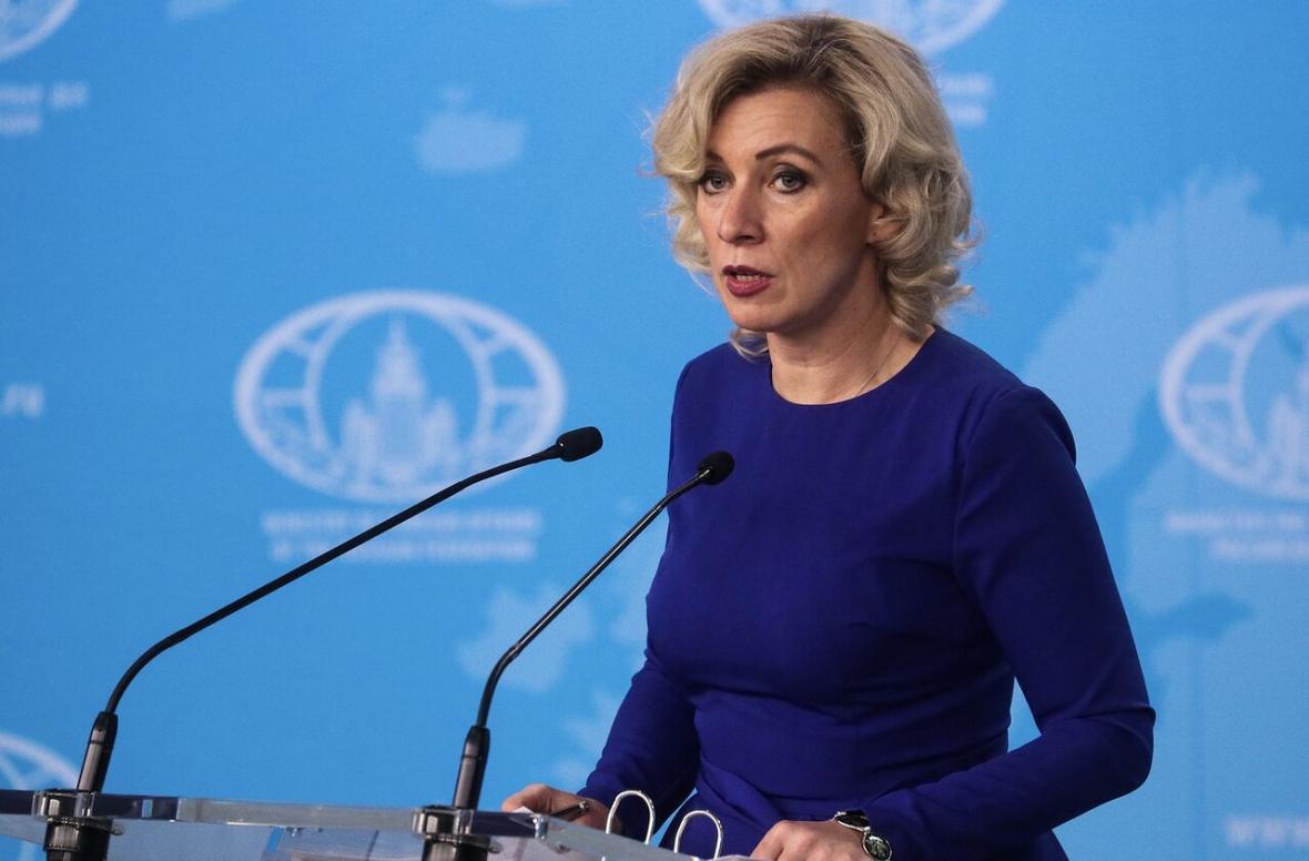 خبرنگاران سخنگوی وزارت خارجه روسیه ، آمریکا را کشور وحشی خواند