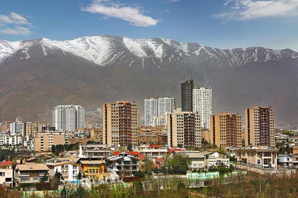 قلب تهران رکورد دار ریزش قیمت مسکن
