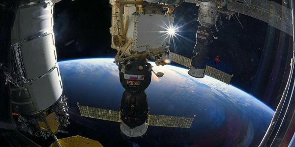 ایستگاه فضایی بین المللی ترک برداشت