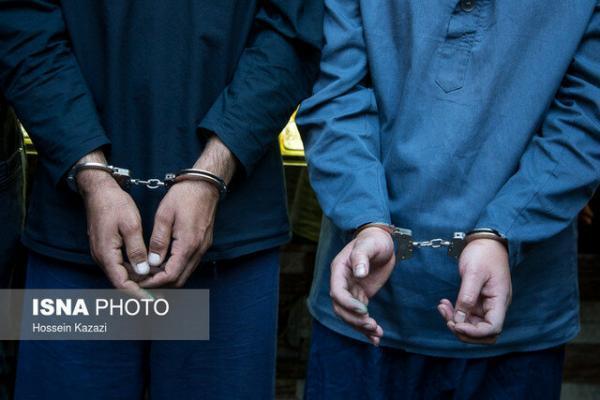 دستگیری عوامل درگیری در صندلی سوخت گچین