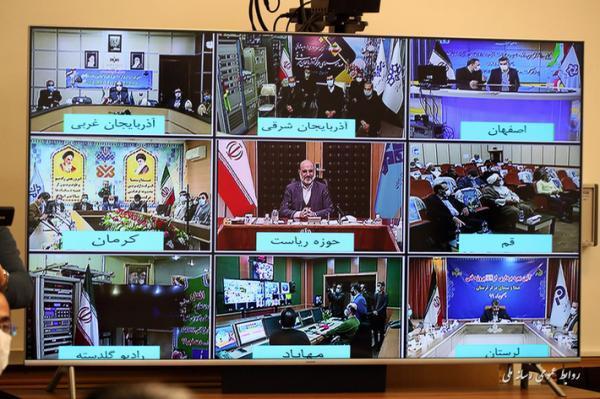 900 طرح رسانه ملی با حضور دکتر علی عسکری افتتاح شد