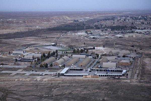 عین الاسد با 10 راکت کاتیوشا هدف قرار گرفت