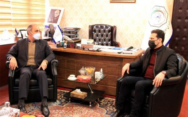 آرش میراسماعیلی میزبان رئیس فدراسیون ورزش دانش آموزی شد