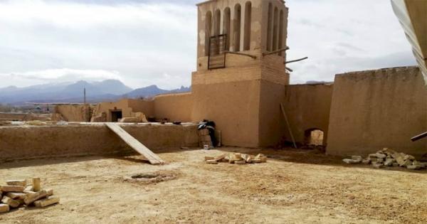 شروع بازسازی مسجد جامع طزنج مهریز