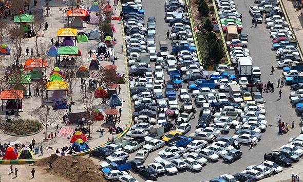 ترافیک در روز سیزدهم فروردین در تهران چگونه است؟ خبرنگاران