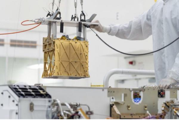 کاوشگر استقامت در مریخ اکسیژن فراوری کرد