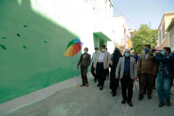 خبرنگاران 50 پروژه خرد در محله حصارک تهران بهره برداری شد