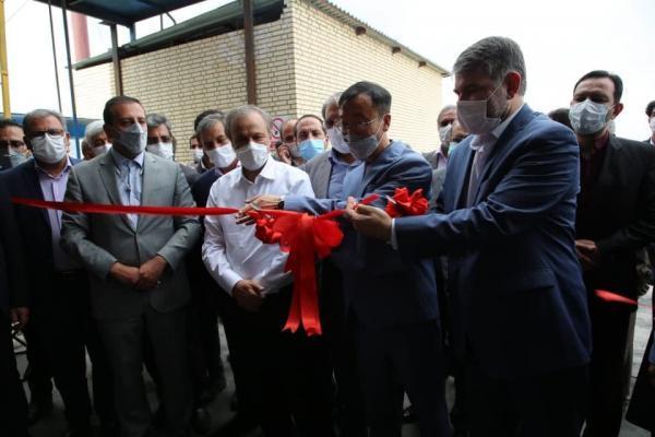 افتتاح طرح توسعه شرکت درین گلاب آدونیس، بهره برداری از کارخانه شرکت پایا کربن اکسیر بین الملل