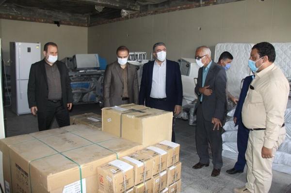 خبرنگاران شرکت پتروشیمی 2 میلیارد ریال به بیمارستان مهاباد یاری کرد