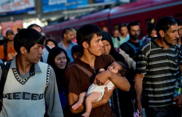 نگرانی مهاجران افغانستانی از پیشروی طالبان