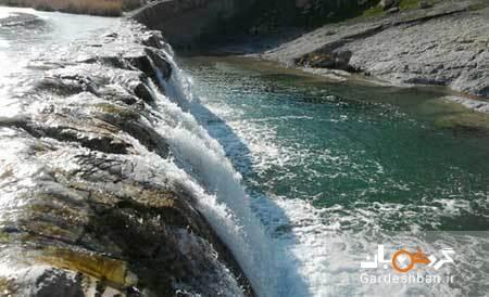 آبشار کیوان طبیعتی بکر و دست نخورده گچساران ، عکس