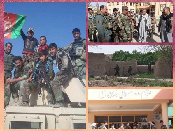 ارتش افغانستان شهرستان دولت آباد را آزاد کرد