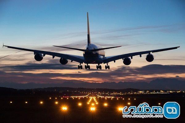 کاهش 57 درصدی سفرهای هوایی در تعطیلات کرونایی به نسبت ماه قبل