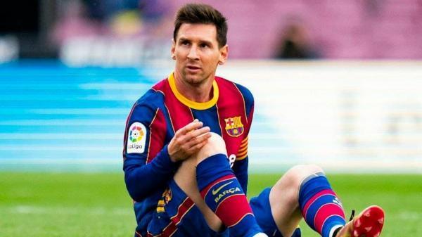 تیم فوتبال بارسلونا در تمدید قرارداد مسی به مشکل خورد