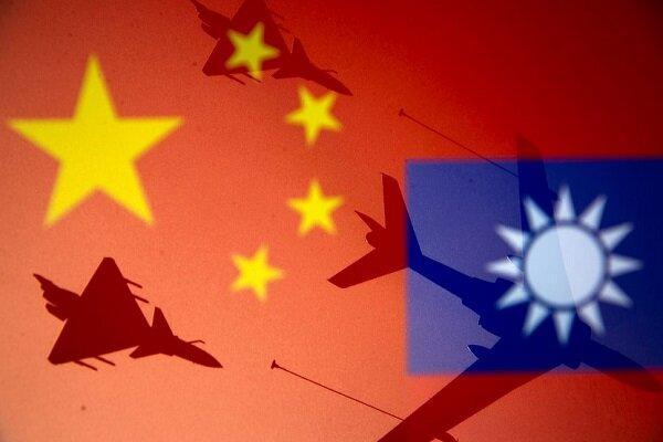 تورهای چین: چین باز هم در آسمان تایوان قدرت نمایی کرد